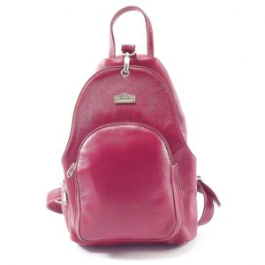 Romy Rucksack HP7172 - ladies leather backpack sling by Der Lederhandler
