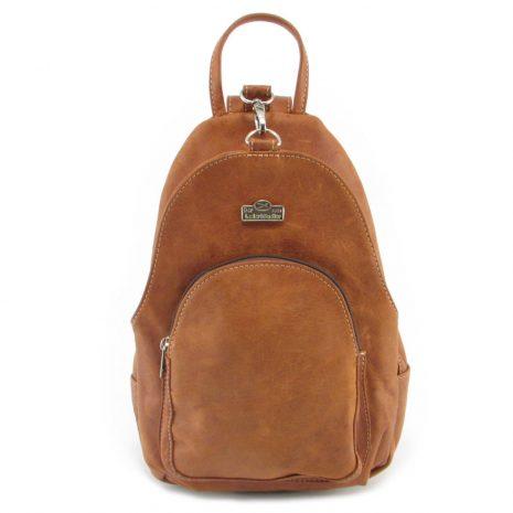 Romy Rucksack HP7172 front leather backpack bags, Der Lederhandler, George, Western Cape