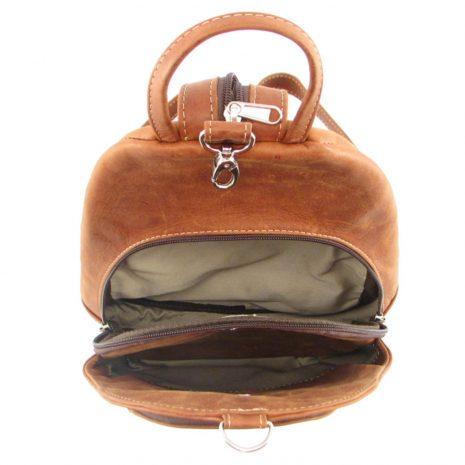 Romy Rucksack HP7172 inside leather backpack bags, Der Lederhandler, George, Western Cape