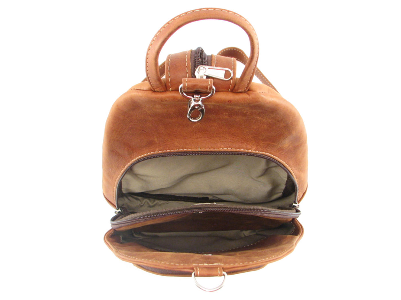 Ladies leather backpack sling  9b3b58fb50a7d