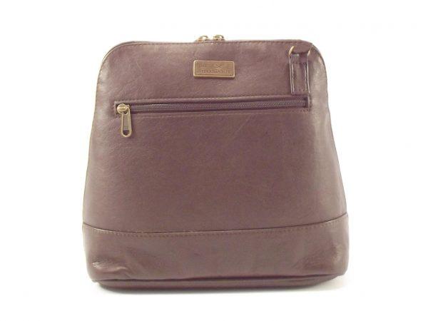 Rosita Medium Long Sling HP7162 - long sling tote leather shoulder handbag by Der Lederhandler