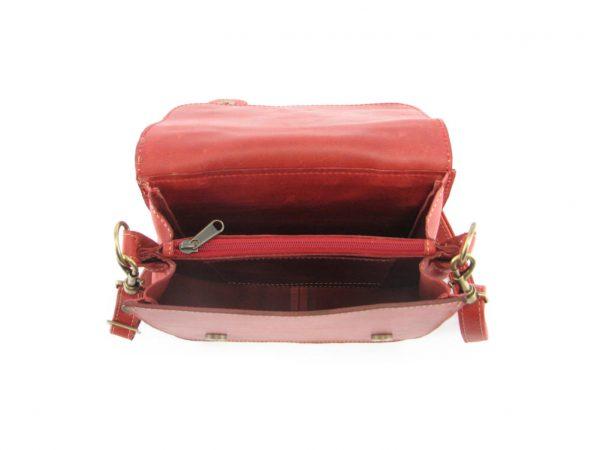 Sabine Small HP7276 inside crossbody handbag leather bags women, Der Lederhandler, George, Western Cape