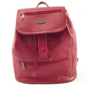 Sam Rucksack HP7213 - full-grain genuine leather casual backpack by Der Lederhandler