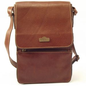 Sling Bag No3 HP7254 - genuine leather briefcase messenger wallet bag by Der Lederhandler