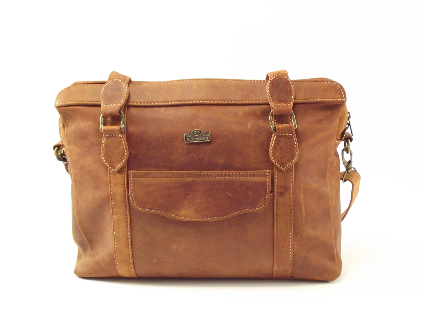 Town Sling Three Hp7271 Women Leather Laptop Bag By Der Lederhandler