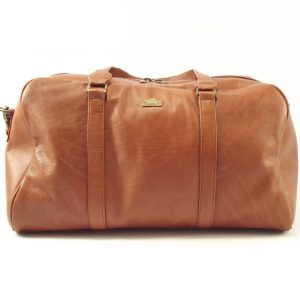Travel Elegant HP7202 - genuine leather duffel bag men and women by Der Lederhandler