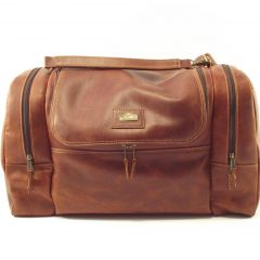 Travel Escape HP7270 - leather duffle bag men by Der Lederhandler