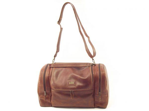 Travel Escape HP7270 - leather duffle bag men by Der Lederhandler