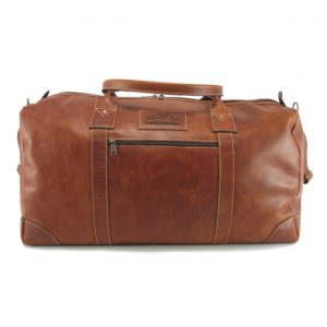 Travel Outdoor HP7285 front leather travel bags, Der Lederhandler, George, Western Cape