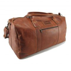 Travel Outdoor HP7285 side leather travel bags, Der Lederhandler, George, Western Cape