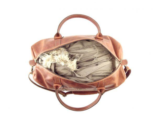 HP7285 Travel Outdoor - vintage leather travel bag by Der Lederhandler