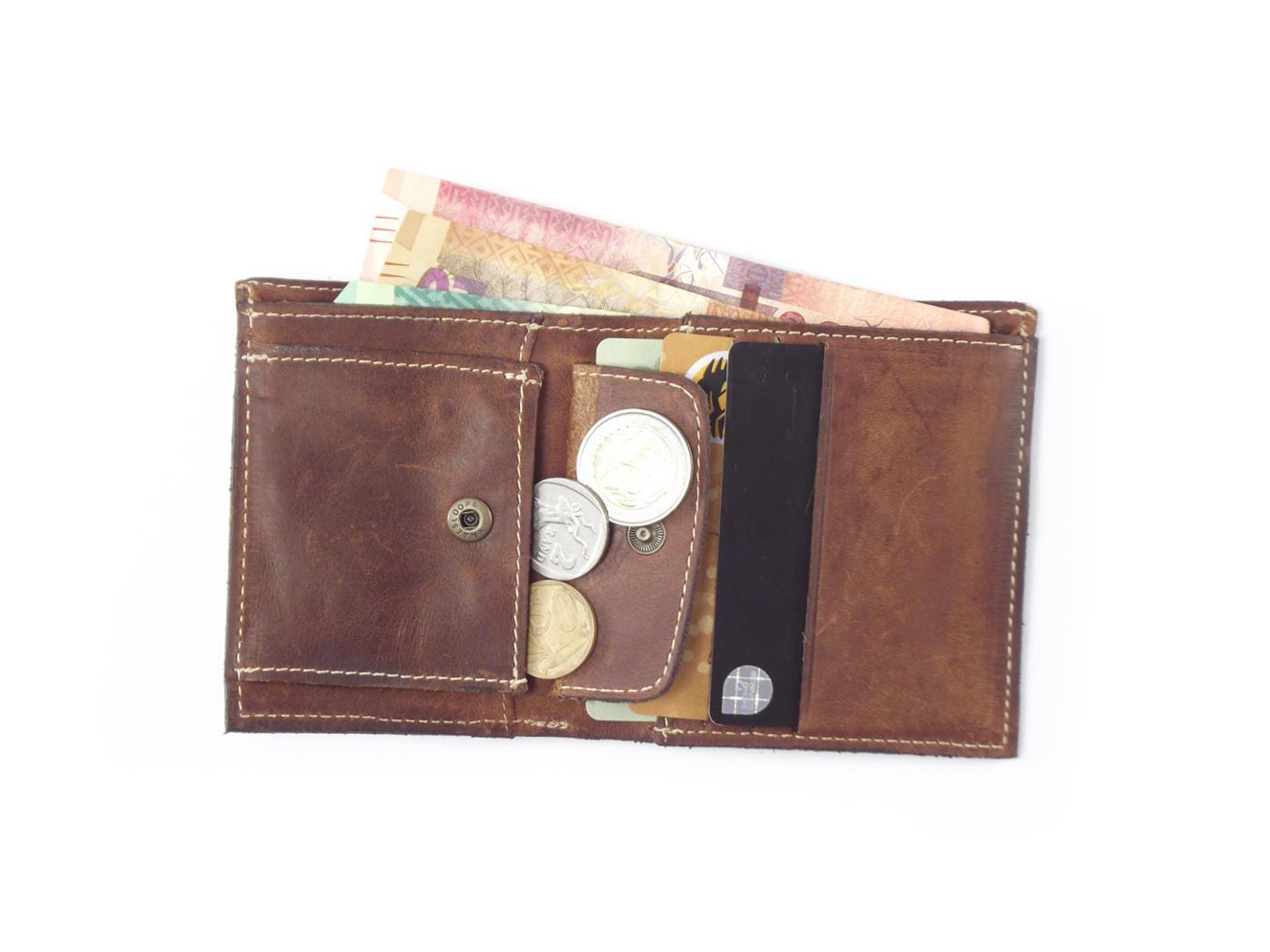 wallet mens no1 hpmw01ntst genuine leather credit card holder men by der lederhandler - Leather Credit Card Holder