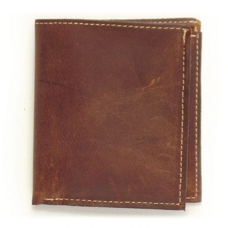 Wallet Men's No1 HPMW01NTST - genuine leather credit card holder men by Der Lederhandler