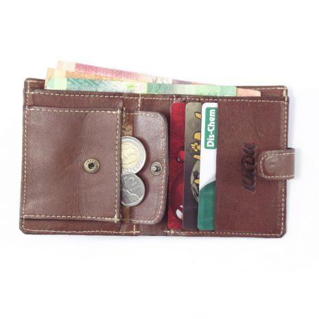 Wallet Men's No1 HPMW01WTST - genuine leather business credit card holder for men by Der Lederhandler