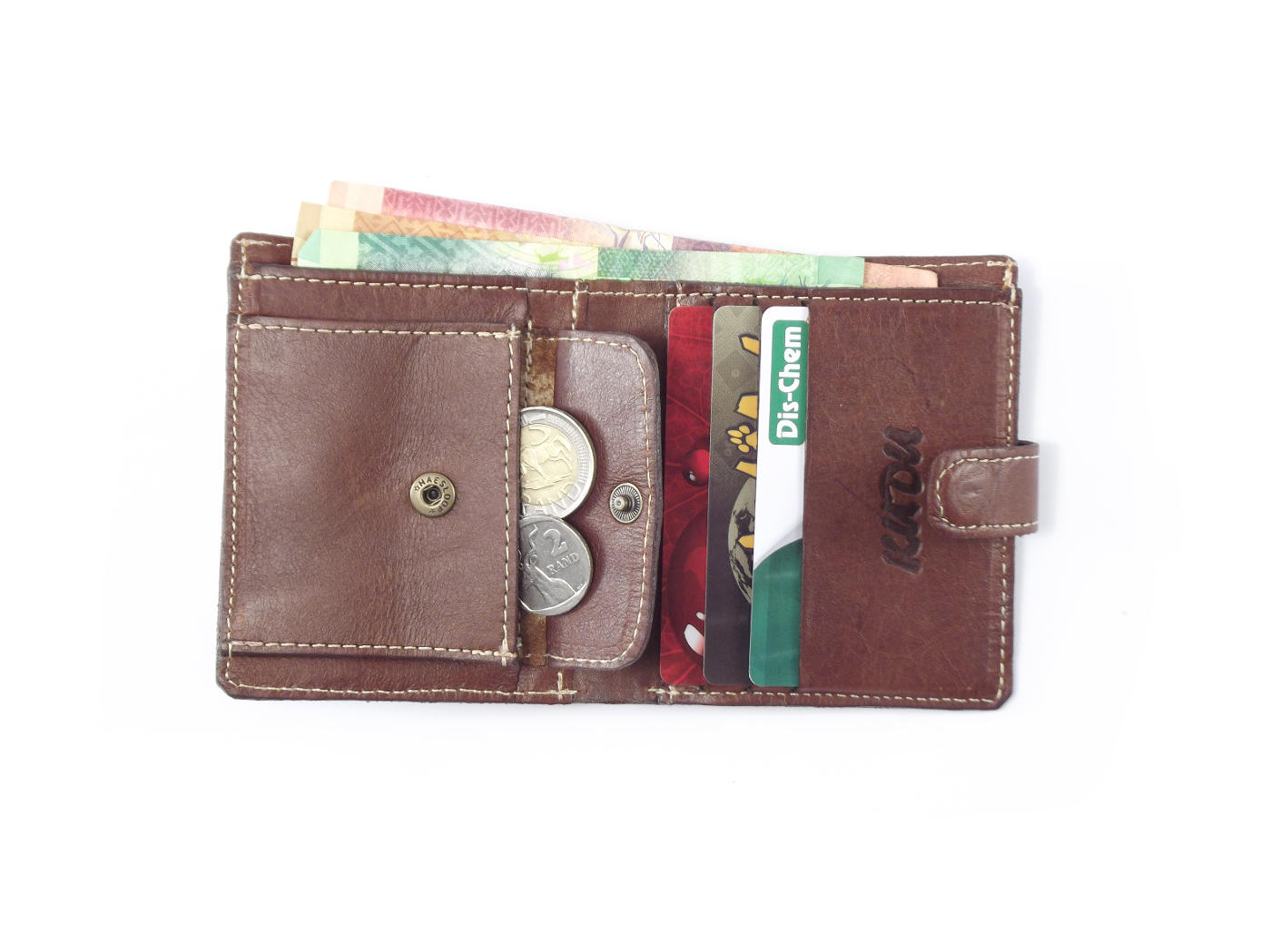 Genuine leather business credit card wallet for men | Der Lederhandler