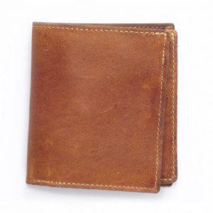 Wallet Men's Two HPMW02NTST - genuine leather credit card holder by Der Lederhandler