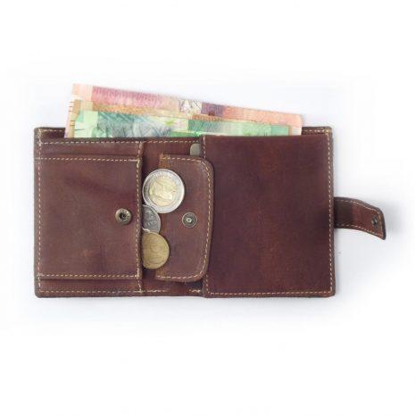 Wallet Men's Two HPMW02WTST - genuine leather business card holder by Der Lederhandler