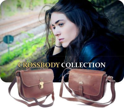 Genuine leather goods and specifically bags and leather crossbody handbags by Der Lederhandler, George, Western Cape