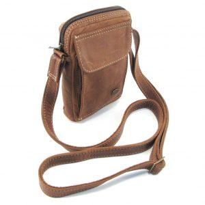 HP7290 Charlie medium wallet sling bag by Der Lederhandler, George, Western Cape