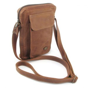 HP7295 Charlie large wallet sling bag by Der Lederhandler, George, Western Cape