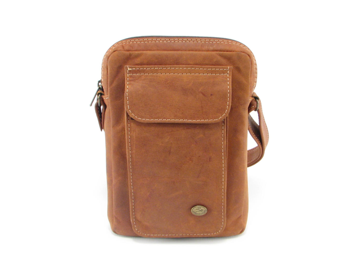 5fd1ac21b4 Genuine leather wallet sling bag