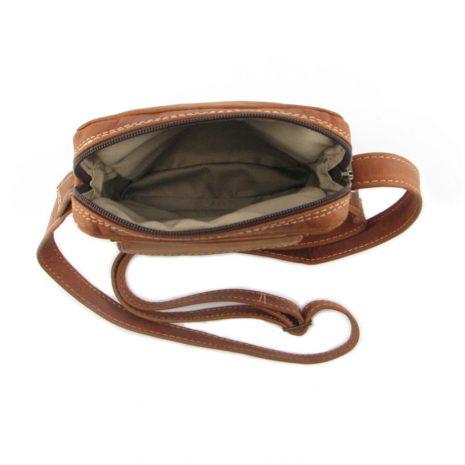 Charlie Sling Large HP7295 inside leather wallet bags, Der Lederhandler, George, Western Cape