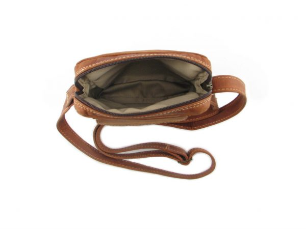 Charlie Sling Large HP7295 inside leather wallet bags, Der Lederhandler, George, Western Cape