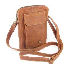 Charlie Sling Large HP7295 side leather wallet bags, Der Lederhandler, George, Western Cape