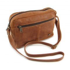 Jaydee Smart Sling HP7291 side leather wallet bags, Der Lederhandler, George, Western Cape