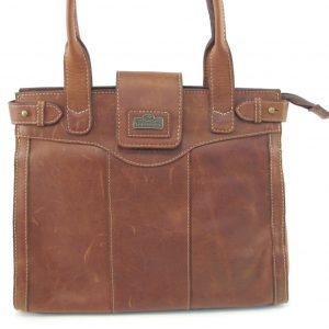 HP7294 Martie - a genuine leather classic handbag for women by Der Lederhandler