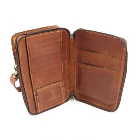 Gents Organiser No 4 HP7300 inside leather wallet bags, Der Lederhandler, George, Western Cape
