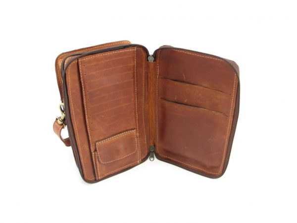 Gents Organiser No 4 HP7300 inside leather wallet bags, Der Lederhandler, George, Western Cape