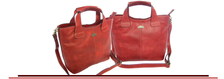 Genuine leather hand bags for women in our Demi style - Der Lederhandler, George, Western Cape
