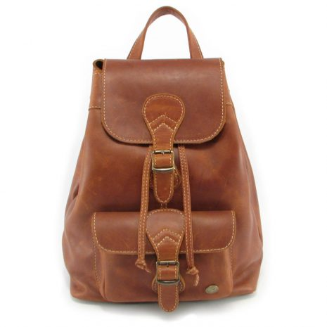 Hunters Rucksack HP7229 front leather backpack bags, Der Lederhandler, George, Western Cape