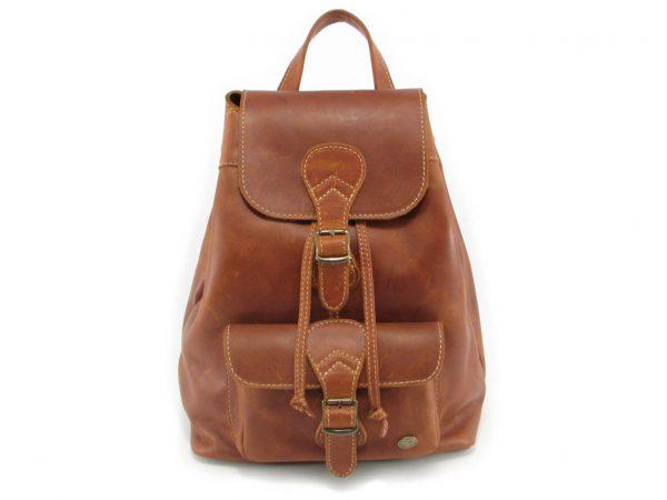 Hunters Rucksack HP7229 front leather backpack bags, Der Lederhandler, George, Western Cape