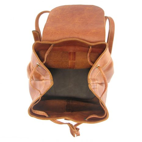 Hunters Rucksack HP7229 inside leather backpack bags, Der Lederhandler, George, Western Cape