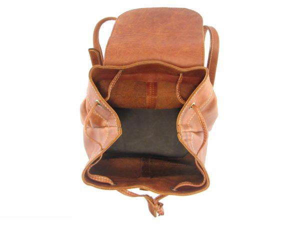 Hunters Rucksack HP7229 inside leather backpack bags, Der Lederhandler, George, Western Cape