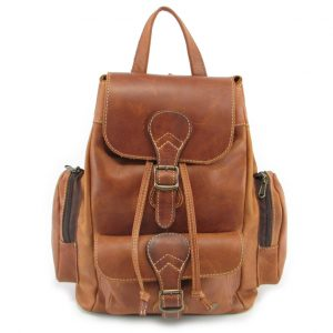 4310b44ba310 Hunters Rucksack No 2 HP7298 front leather backpack bags