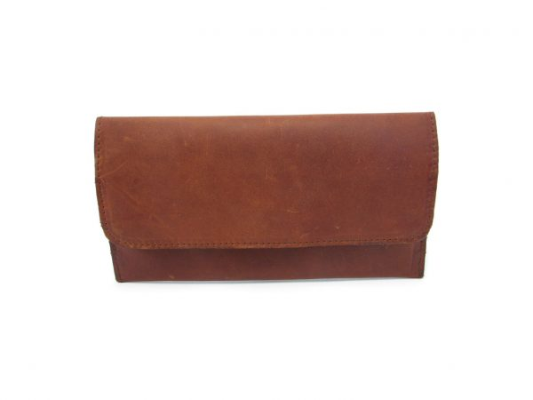 Ladies Wallet No 8 Stiff HPLW08ST front ladies purse leather wallets, Der Lederhandler, George, Western Cape
