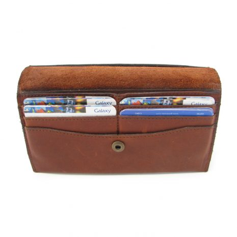 Ladies Wallet No 8 Stiff HPLW08ST inside ladies purse leather wallets, Der Lederhandler, George, Western Cape