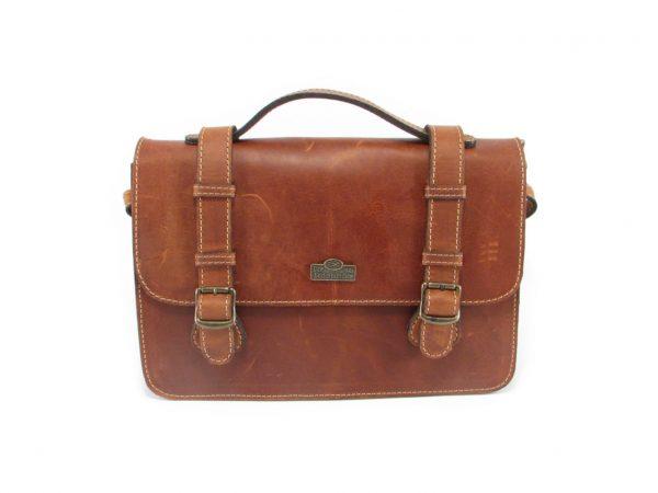 Sabine HP108 front crossbody handbag leather bags women, Der Lederhandler, George, Western Cape
