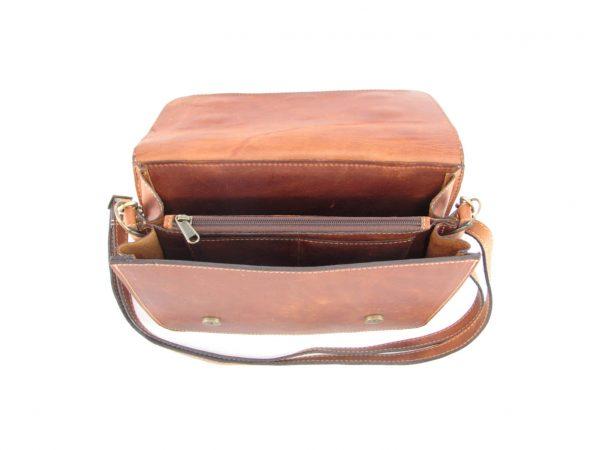 Sabine HP108 inside crossbody handbag leather bags women, Der Lederhandler, George, Western Cape