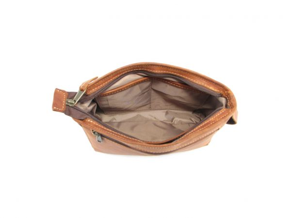 Toiletry Bag No 5 HP7299 inside2 leather bags men, Der Lederhandler, George, Western Cape