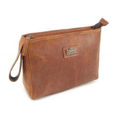 Toiletry Bag No 5 HP7299 side leather bags men, Der Lederhandler, George, Western Cape