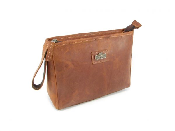Toiletry Bag No 5 HP7299 side leather bags men, Der Lederhandler, George, Western Cape