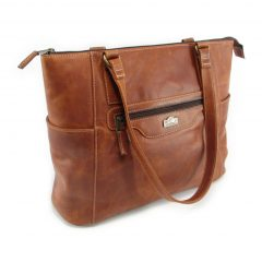 Tosca No 1 HP7301 side classic handbag leather bags women, Der Lederhandler, George, Western Cape