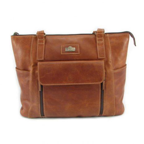 Tosca No 2 HP7302 front classic handbag leather bags women, Der Lederhandler, George, Western Cape