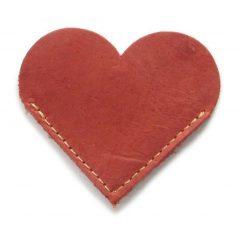 HPGG2076AST Bookmark Heart 1 curio items, Der Lederhandler, George, Western Cape