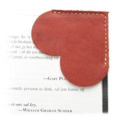 HPGG2076AST Bookmark Heart 2 curio items, Der Lederhandler, George, Western Cape