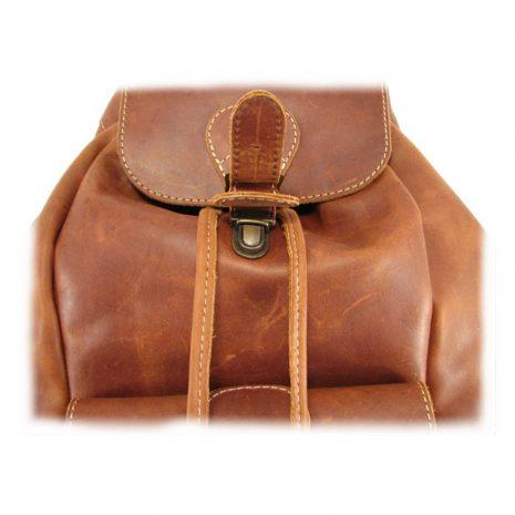 Hunters Rucksack No 3 HP7305 lock leather backpack bags, Der Lederhandler, George, Western Cape